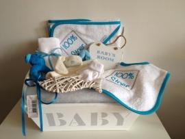 Kraampakket baby blauw