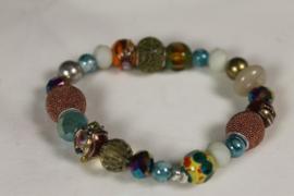 Kleurmix armband