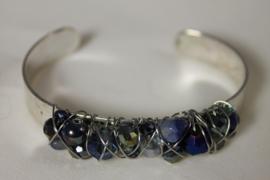 Blauw | zilver