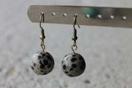 Dalmatiër jaspis -halfedelsteen-