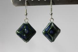 Donkerblauw | zwart -keramiek-