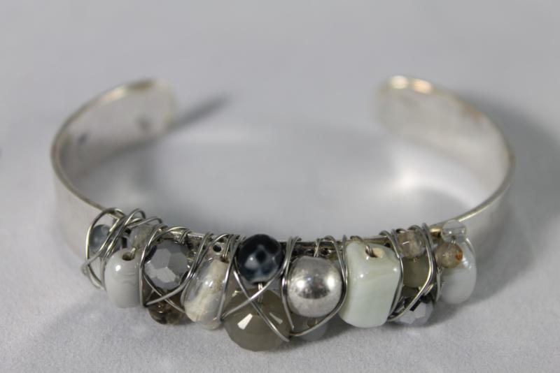Zilver | wit | grijs