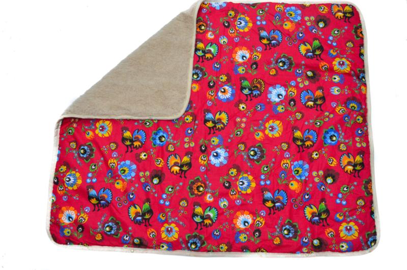 Wollen deken | 120 x 100 cm
