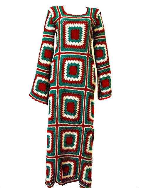 Gehaakte jurk | maat L\XL