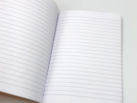A5 NOTEBOOK LINED