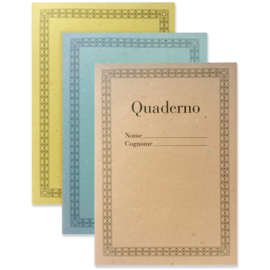 Quaderno Set pastel