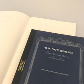 C.D. NOTEBOOK LINED