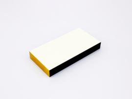Checked Notepad Black