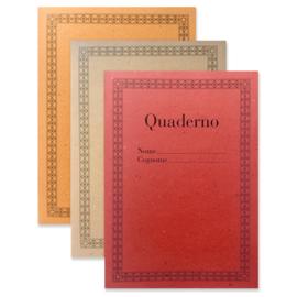 Quaderno Set red