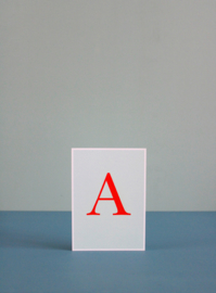 A card