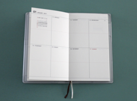 The Planner Indi Blue