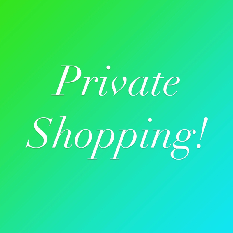 Private Shopping April 14th