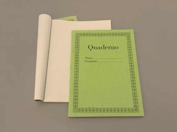 Quaderno Grass