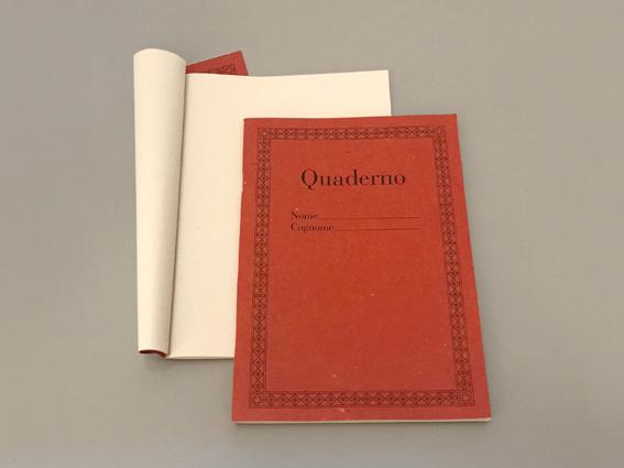 Quaderno red