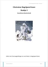 Citotrainer Begrijpend lezen Boekje 3 - bovenbouw (papieren versie)