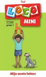 Pakket Mijn eerste letters en woorden - Mini Loco groep 1-2