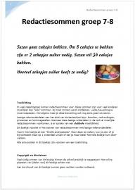 Redactiesommen groep 7-8 (pdf-bestand)