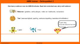 Oefenpakket 2 AMN Eindtoets (online opgaven)
