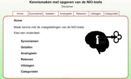 Online NIO-pakket