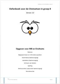Oefenboek voor de Citotoetsen in groep 8 - Versie 3.0 (combi: pdf + papieren versie)