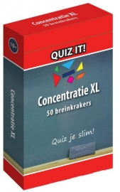 QUIZ IT - Concentratie XL (10+)