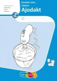 Ajodakt Puzzelen met Taalmix Gr 7 Werkboek