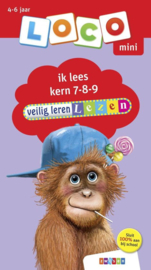 Loco Mini - Veilig leren lezen ik lees kern 7-8-9