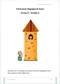 Citotrainer Begrijpend lezen Boekje 2 - Groep 4 (pdf-bestand)
