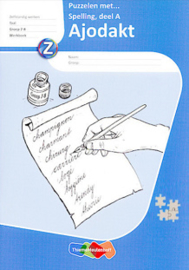 Ajodakt Taal - Puzzelen met spelling groep 7-8 Deel A