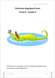 Citotrainer Begrijpend lezen Boekje 3 - Groep 4 (pdf-bestand)