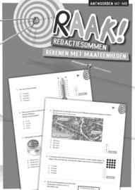RAAK! Redactiesommen Rekenen met Maateenheden 7-8 (antwoorden)