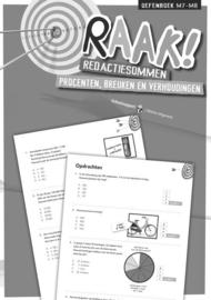 RAAK! Redactiesommen Procenten en Breuken 7-8 (antwoorden)