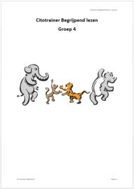 Citotrainer Begrijpend lezen Boekje 1 - Groep 4 (pdf-bestand)