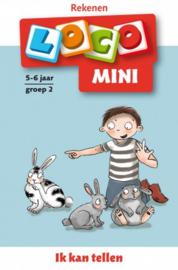 Pakket Ik leer tellen - Mini Loco groep 1-2