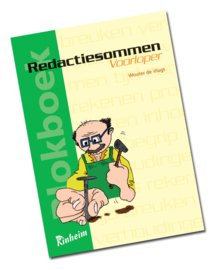 Blokboek Redactiesommen Voorloper - Groep 4