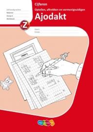 Ajodakt Cijferen Groep 6 Werkboek