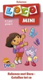 Rekenen met Dora - Getallen tot 10