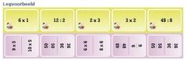 Het Tafels Kaartspel 8+
