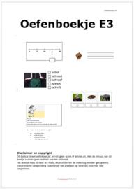 Oefenboekje voor de Citotoetsen eind groep 3 (pdf-bestand)
