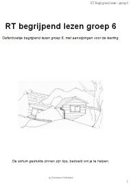 RT Begrijpend lezen groep 6 (pdf-bestand)