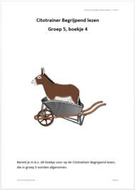 Citotrainer Begrijpend lezen Boekje 4 - Groep 5 (pdf-bestand)