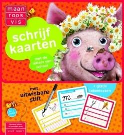 Maan Roos Vis Schrijfkaarten