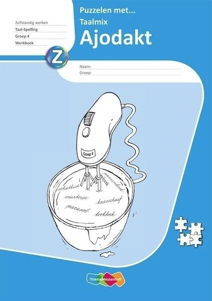 Ajodakt Puzzelen met Taalmix Groep 4 Werkboek