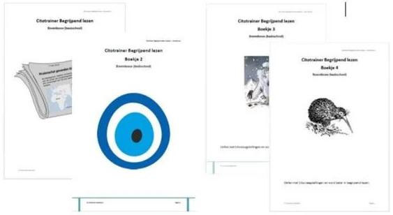 Combi Citotrainer Begrijpend lezen Boekje 1 t/m 4 - bovenbouw (pdf + papieren versie)