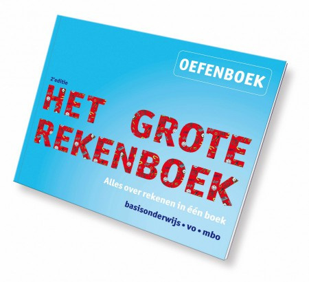 Het Grote Rekenboek Oefenboek 2e editie