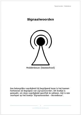 Signaalwoorden - Middenbouw (pdf-bestand)