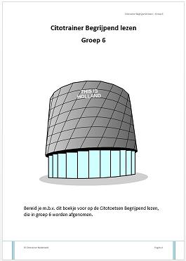 Citotrainer Begrijpend lezen Boekje 1 - Groep 6 (pdf-bestand)