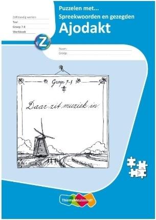 Puzzelen met spreekwoorden Groep 7-8