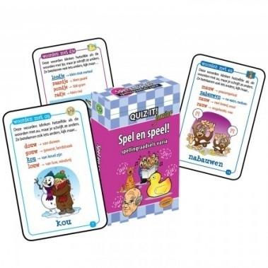 QUIZ IT junior - Spel en speel! Spellingraadsels varia