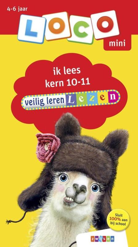 Loco Mini - Veilig leren lezen ik lees kern 10-11